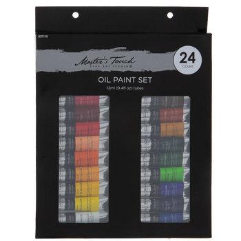 Master's Touch Oil Paints - 24 Piece Set