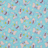 Dumbo Cotton Calico Fabric