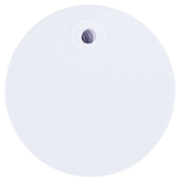 Large Blank Circle White Designer Tags