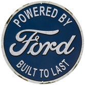 Ford Built To Last Metal Sign