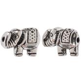 Elephant Metal Beads