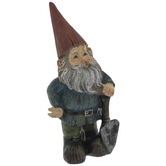 Red Hat Gnome With Shovel