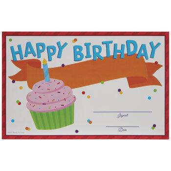 Happy Birthday Certificates