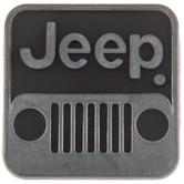 Jeep Square Metal Knob