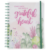 A Grateful Heart Spiral Notebook