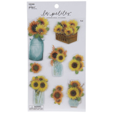 Home Grown Sunflowers 3D Stickers