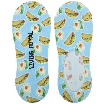 Taco & Avocado Liner Socks
