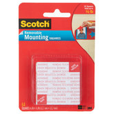Scotch Removable Foam Mounting Squares
