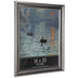 Antique Silver Wood Wall Frame - 16
