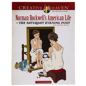 Norman Rockwell's American Life Coloring Book