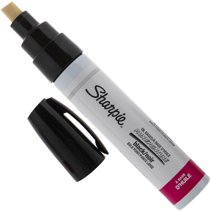 Bold Marker Point Type Yellow Sharpie Oil Base Bold Point Permanent Marker