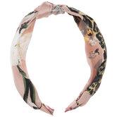 Floral & Leopard Print Knot Headband
