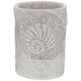 Embossed Sea LED Candle