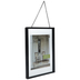 Black Float Wall Frame With Chain - 8