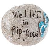 Flip-Flops Garden Stone