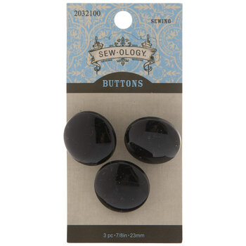 Round Shank Buttons - 23mm