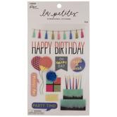 Happy Birthday 3D Stickers