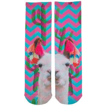 Llama & Cactus Socks