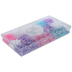 Unicorn Colors Plastic Bead Box