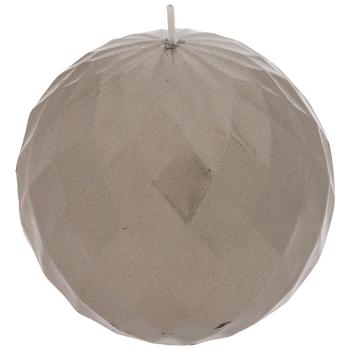 Metallic Ball Candle