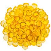 Yellow Acrylic Confetti