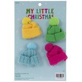 Mini Beanie Ornaments