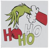 Ho Ho Ho Grinch Wood Decor