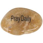 Pray Daily Garden Stone