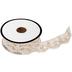 Ivory Crochet Scallop Trim - 7/8