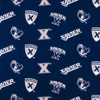 Xavier Allover Collegiate Cotton Fabric