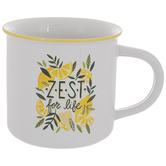 Zest For Life Lemon Mug