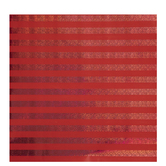 Red Holographic Striped Gift Wrap