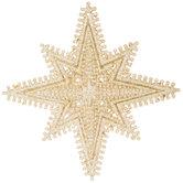 Champagne Glitter Star Ornament