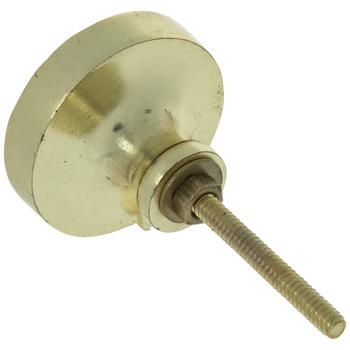 Brass Round Hammered Metal Knob