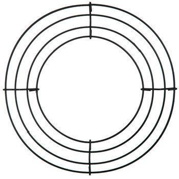 """Round Metal Wire Wreath Frame - 8"""""""