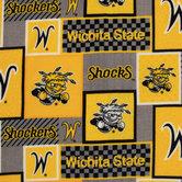 Wichita State Patch Fleece Fabric