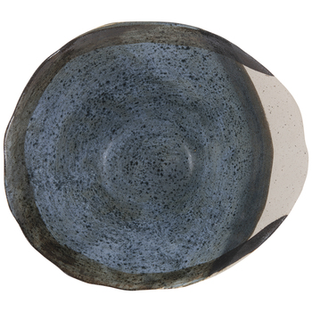 Blue Oyster Shell Bowl - Large