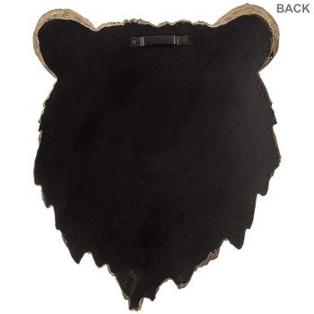 Brown Bear Head Wall Decor