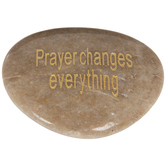 Prayer Changes Everything Garden Stone