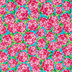 Pink Rosey Posie Apparel Fabric