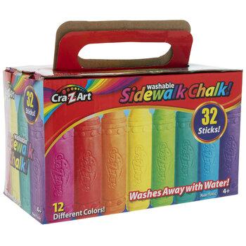 Cra-Z-Art Sidewalk Chalk - 32 Piece Set