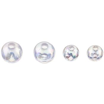 Crystal AB Round Bead Mix
