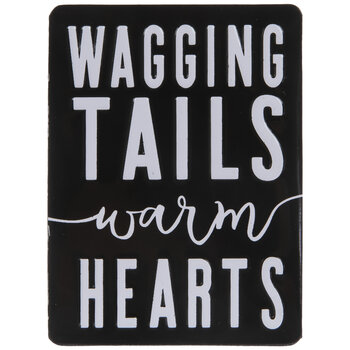 Wagging Tails Warm Hearts Magnet