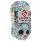 Sequin Cat Beanie Boo Slipper Socks