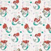 The Little Mermaid Cotton Fabric