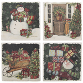 Snowman Coasters