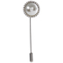 Imitation Pearl & Rhinestone Pin Brooch