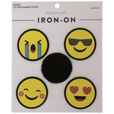 Emoji Interchangeable Patches Iron-On Applique