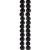 Black Obsidian Round Bead Strands - 4mm