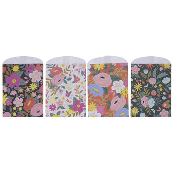 Pink & Navy Floral Craft Sacks